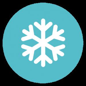Значок снежинка